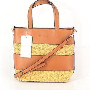 Melie Bianco Fabric purse